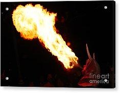 Fire Axe Acrylic Print