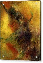 Fire Dance Acrylic Print by David DeHetre