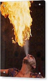 Fire Eater 2 Acrylic Print