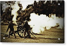 Acrylic Print featuring the photograph Fire by Randall  Cogle