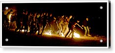Fireball Game Acrylic Print by Mark Ivins