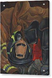 Fireman Personalized Acrylic Print