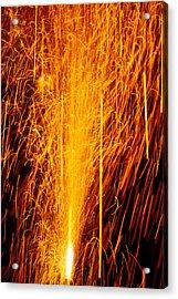 Fireworks Fountain Acrylic Print by Garry Gay