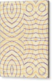 Firmamentals 0-2 Acrylic Print by William Burns