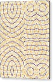 Firmamentals 0-3 Acrylic Print by William Burns