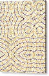 Firmamentals 0-7 Acrylic Print by William Burns