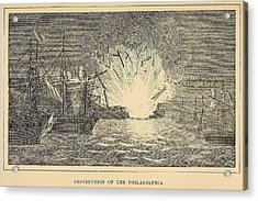 First Barbary War 1801-1805 Acrylic Print by Everett