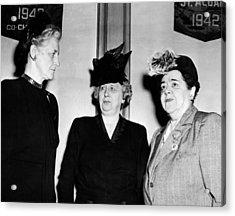 First Lady Bess Truman Attending Acrylic Print by Everett
