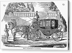 First Lady Carriage, 1851 Acrylic Print by Granger