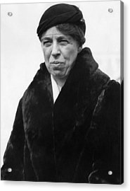 First Lady Eleanor Roosevelt Acrylic Print by Everett