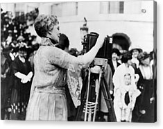 First Lady Florence Harding, Wife Acrylic Print by Everett