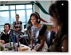 First Lady Michelle Obama Does An Acrylic Print