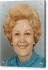 First Lady Patricia Nixon 1912-1993 Acrylic Print by Everett