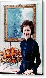 First Lady Rosalynn Carter  Official Acrylic Print by Everett