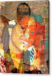 First Lady Working Lady Acrylic Print by Fania Simon