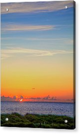First Light Acrylic Print by William Wetmore