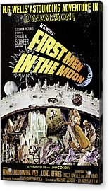 First Men In The Moon, Edward Judd Acrylic Print by Everett