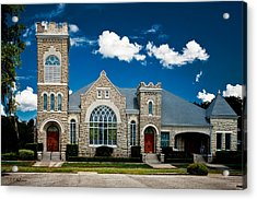 First Presbyterian Church Of Eustis Acrylic Print by Christopher Holmes