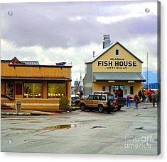 Fish House Acrylic Print