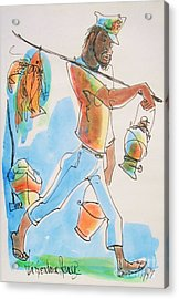 Fish Man Acrylic Print