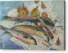 Fish Soup Acrylic Print by Juliya Zhukova