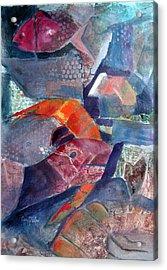 Fish Town Acrylic Print