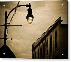Fisher Street Facades Acrylic Print