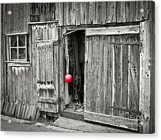 Fishermans Shed Acrylic Print