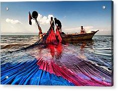 Fishing - 11 Acrylic Print