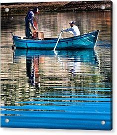 Fishing - 14 Acrylic Print