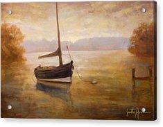 Fishing Boat Acrylic Print by Jonathan Howe