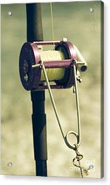 fishing Kaupo Acrylic Print by Sharon Mau