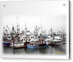 Acrylic Print featuring the photograph Fishing Nirvana by Sadie Reneau
