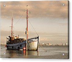 Acrylic Print featuring the photograph Fishing Trawler by David Harding