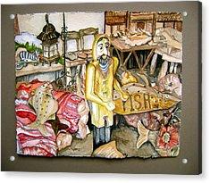Fishy Stuff Acrylic Print by Laurel Fredericks