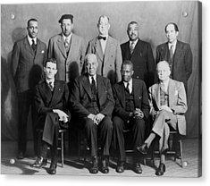 Five African American Defendants Acrylic Print by Everett