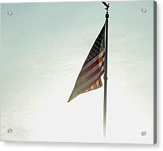 Flag Acrylic Print by Billie-Jo Miller