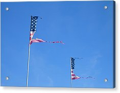 Flags Acrylic Print by Phil Hill