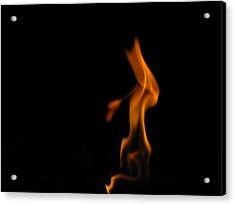 Flame 1 Acrylic Print