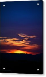 Flame Out  Acrylic Print by Kevin Bone