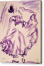 Flamenco Dancer 11 Acrylic Print