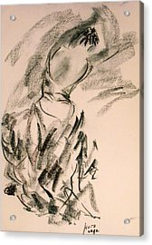 Flamenco Dancer 4 Acrylic Print