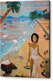 Flamingo Hills Acrylic Print
