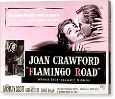 Flamingo Road, Joan Crawford, David Acrylic Print by Everett