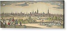 Flanders: Bruges, 1720 Acrylic Print by Granger