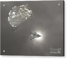 Flash Acrylic Print by Yury Bashkin