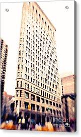 Flatiron Building Nyc Acrylic Print by Kim Fearheiley