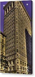 Flatiron On Broadway Acrylic Print by David Bearden