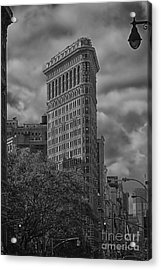 Acrylic Print featuring the photograph Flatiron by Vicki DeVico