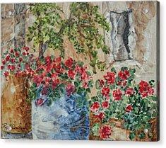 Fleurs De France Acrylic Print
